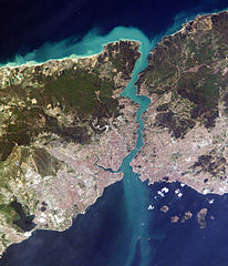 Bosphorus from space by NASA