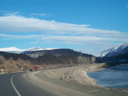 The road from Trabzon to Erzurum